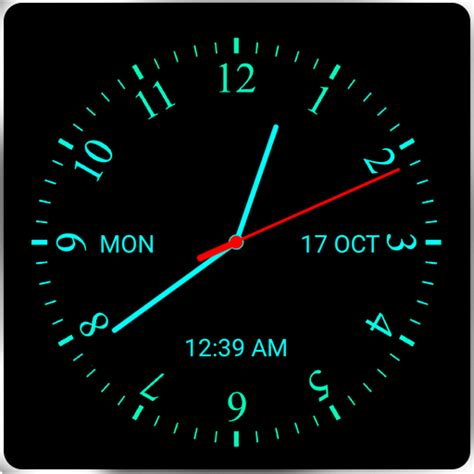 live clock themes mobile9 download analog clock live wallpaper 7 google play