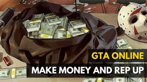 Make Money Online Gta - gta online how to earn money and build your rep