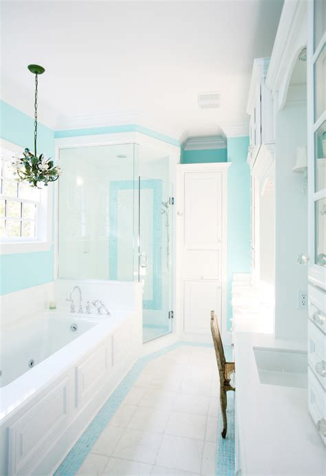 house tour white and pale tiffany blue makes a charming discovering tiffany blue paint in 20 beautiful ways