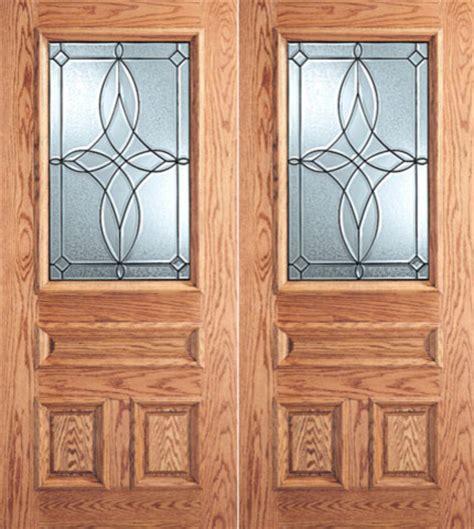 decorative glass front doors design decorative glass 3 panel 1 2 lite front