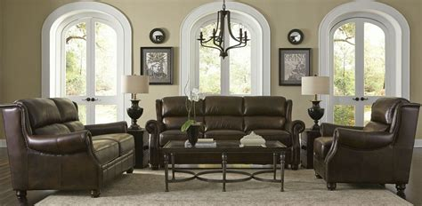 rustic living room sets appalachian rustic savauge leather living room set from