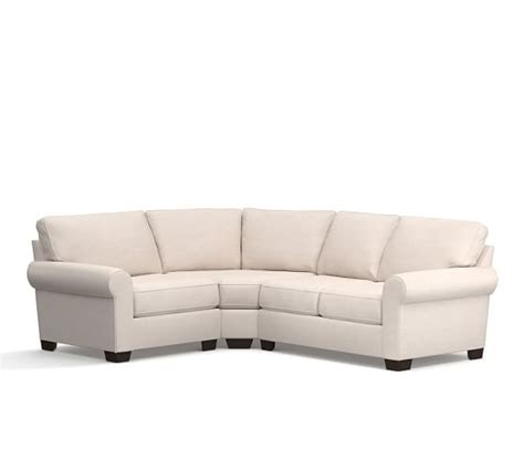 curved wedge sectional sofa buchanan roll arm upholstered curved 3 sectional