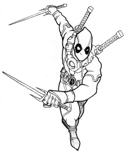 free coloring book get this deadpool coloring pages 569678