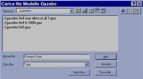programma gazebo gazebo per autocad disegno parametrico delle falde