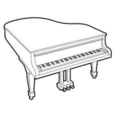 coloring page piano keys piano coloring pages www pixshark com images galleries