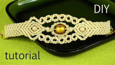 Macrame Bracelet Tutorials - sun in the sea macrame bracelet tutorial