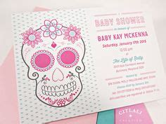 Set Chory Pink bassinet sugar skull and skulls on