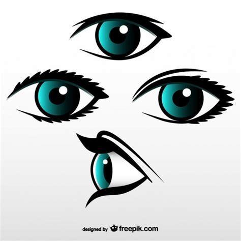 vector gratis ojo ver icono imagen gratis en pixabay conjunto de vectores de ojos descargar vectores gratis