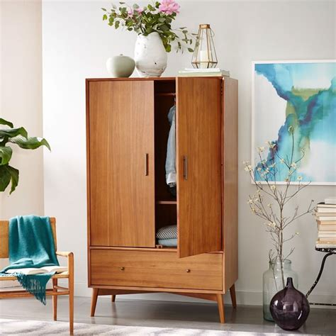mid century wardrobe  crafted  fsc certified wood