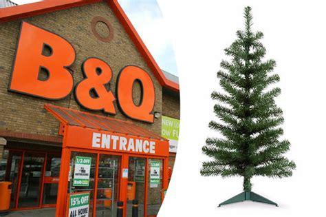 christmas 2017 b q selling xmas trees for just 2 quid