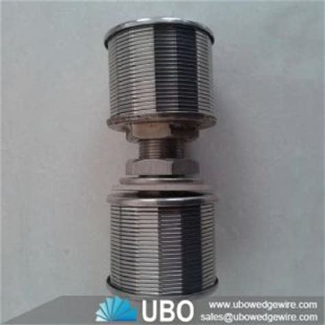 Nozzle Water Screen water well screen nozzle of water treatment wedge wire screen stainless steel filter nozzle