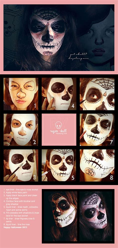 Simple Halloween Makeup And Costumes