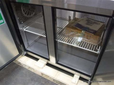 Stainless Steel Countertops Dallas by 47 Stainless Steel 2 Door Counter Freezer Restaurant Equipment For Sale From Grand Prairie