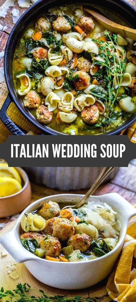 Italian Wedding Soup   Recipe   Recipes   Soups & Stews