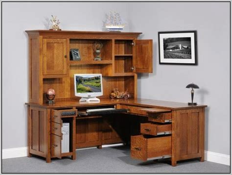 computer desk with hutch plans corner computer desk with hutch plans desk home design