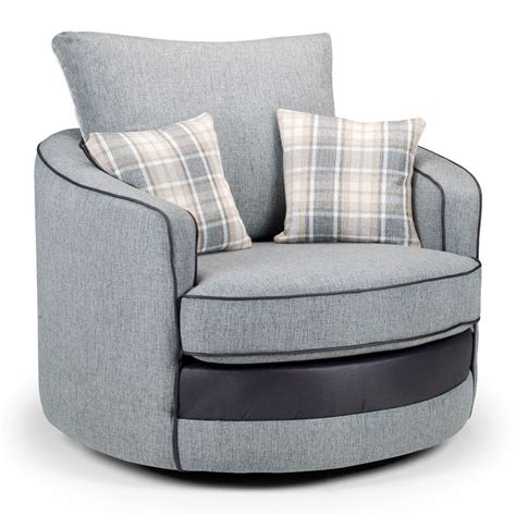 fabric swivel chairs casa fabric swivel chair