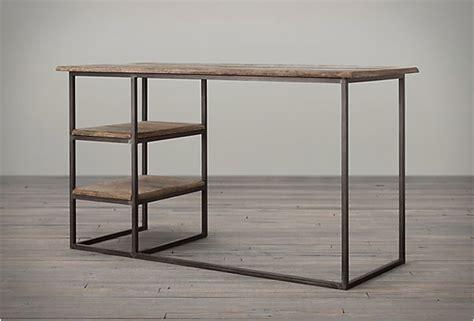 fulton desk by restoration hardware