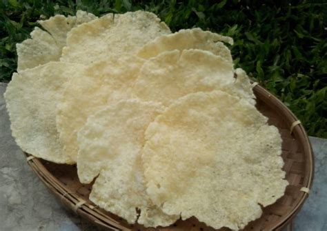 Kerupuk Bawang Putih resep kerupuk karak bawang khas tanpa bleng boraks