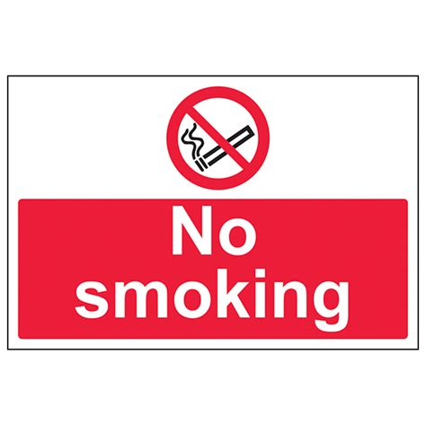 no smoking sign large no smoking large landscape eureka4schools