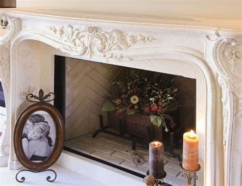 beautiful cast fireplace mantel for the home