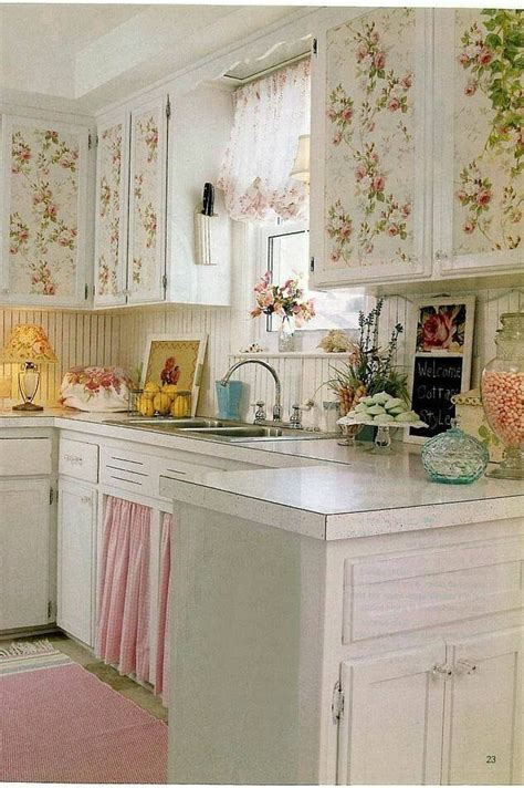 Shabby Chic Kitchens Ideas Pin By Karen W On Shabby Chic Amp Much More Pinterest