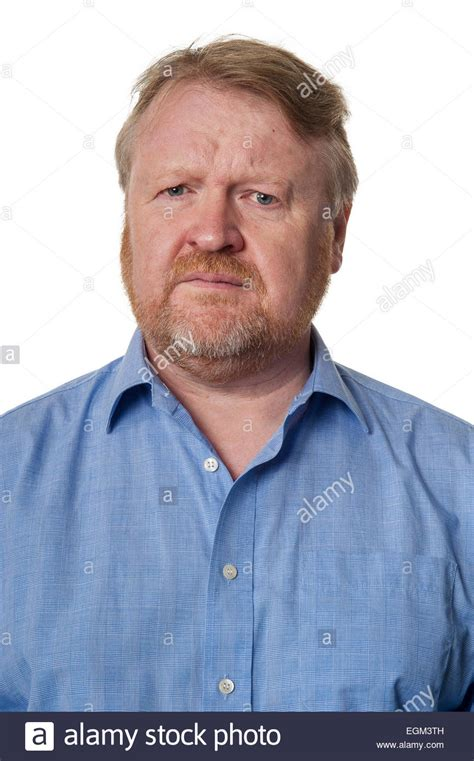 mohawks on middle aged men portrait of concerned bearded overweight middle aged man