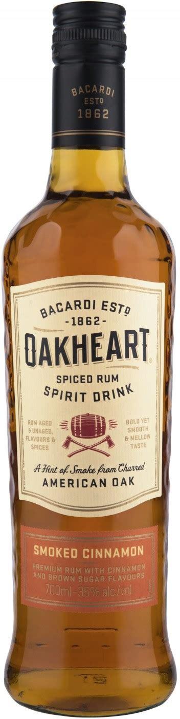 bacardi oakheart rum bacardi oakheart smoked cinnamon 0 7 l price reviews