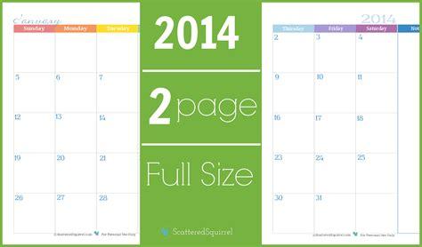 2016 printable calendar two months per page calendar printable 2017