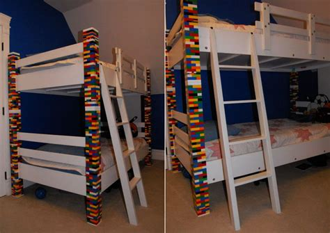 custom made bunk beds elegant bunk bed custom made with recycled lego bricks