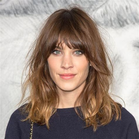 lob haircut with a fringe the effortlessly cool haircut you ll love for fall bobs