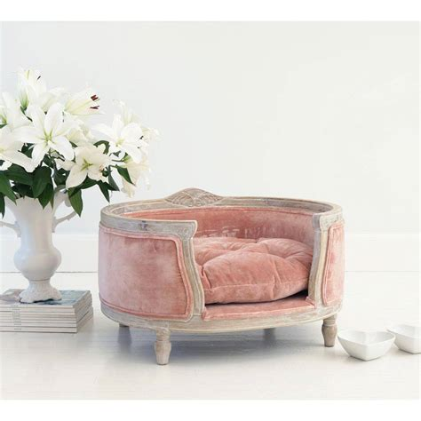 pink cat bed posh pooch pink pet bed the french bedroom company