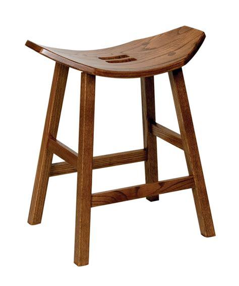 mission stationary saddle stool ohio hardwood furniture