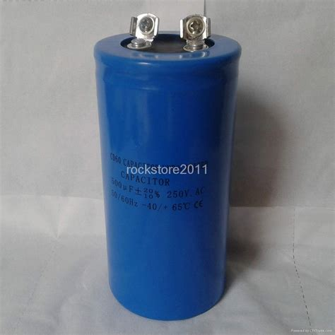buy 1 farad capacitor non polarized capacitor cd60 500 micro farad or 500mf 250vac cd60500 250 mfeo china trading