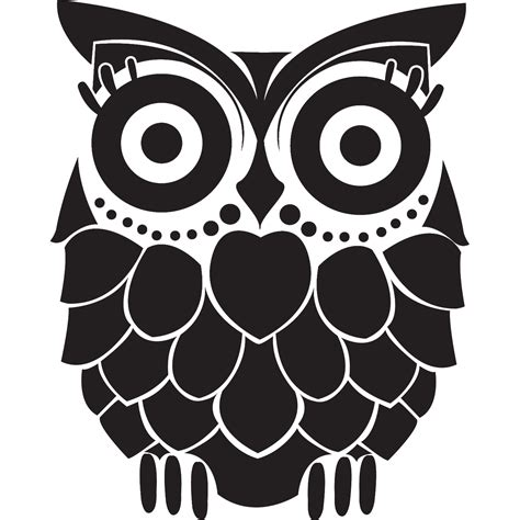 owl tattoo png baby owl black and white