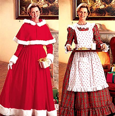 pattern for father christmas costume 1000 images about mrs claus on pinterest angel costumes