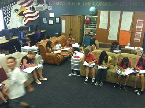 couch elementary school is it time to get rid of desks in the classroom edtech