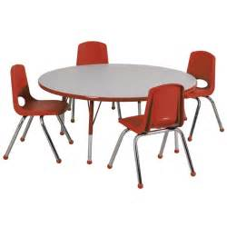 All round activity table amp chair package by ecr4kids options tables