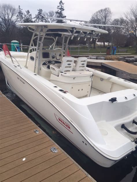 boston whaler boat dealer ontario canada boston whaler 320 outrage 2007 for sale for 95 000