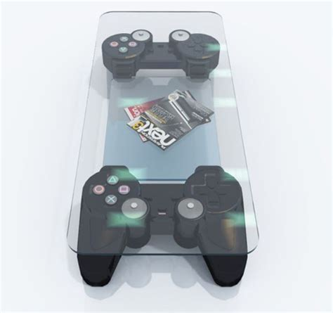 playstation controller coffee table jorymon