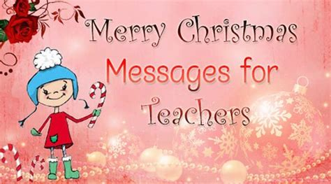merry christmas messages  teachers  message