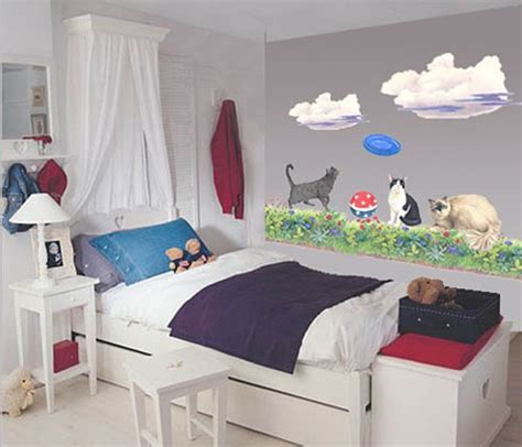 Decorate A Hospital Room by More Than 50 Cool Ideas For Cat Themed Room Design Digsdigs