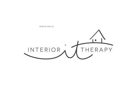 interior design logo ideas graphic design for small businesses interior therapy