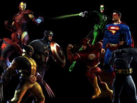 dc comics vs marvel superheroes wallpaper marvel hd wallpapers wallpaper cave