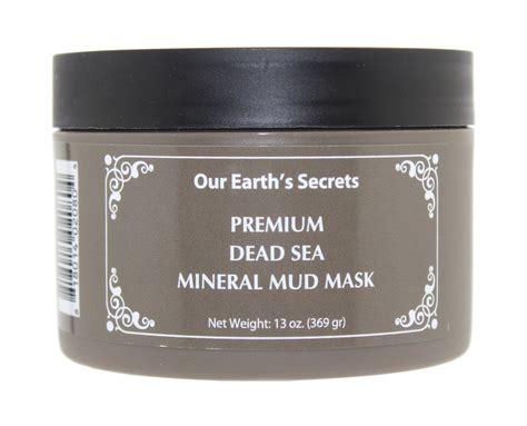 Bioaqua Mineral Mud Mask 120g our earth s secrets premium dead sea mineral mud mask