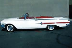 1960 chevrolet impala convertible barrett jackson