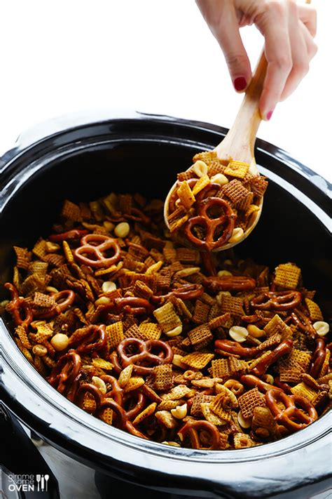recipe for traditional chex mix cooker chex mix gimme some oven