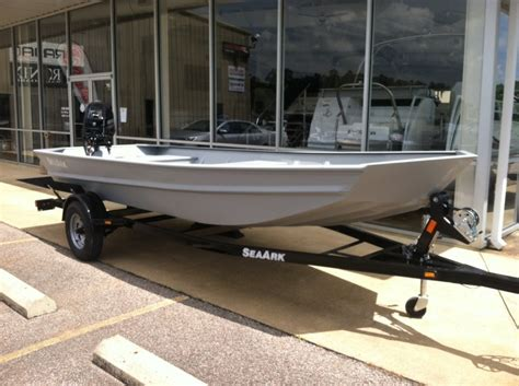 seaark welded boats sea ark 1648 mv boats for sale in counce tennessee