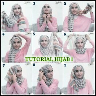 tutorial berhijab untuk wajah panjang 25 best ideas about tutorial hijab terbaru on pinterest
