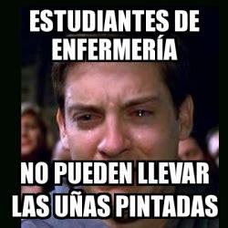 imagenes memes estudiantes meme crying peter parker estudiantes de enfermer 237 a no