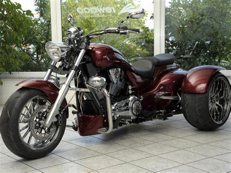 3 Rad Motorrad Gebraucht Kaufen by Motorrad Rewaco Baut Victory Vegas Zum Dreirad Um News De